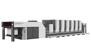 オフセット印刷機 4台(6色機×2台、5色機×1台、4色機×1台)